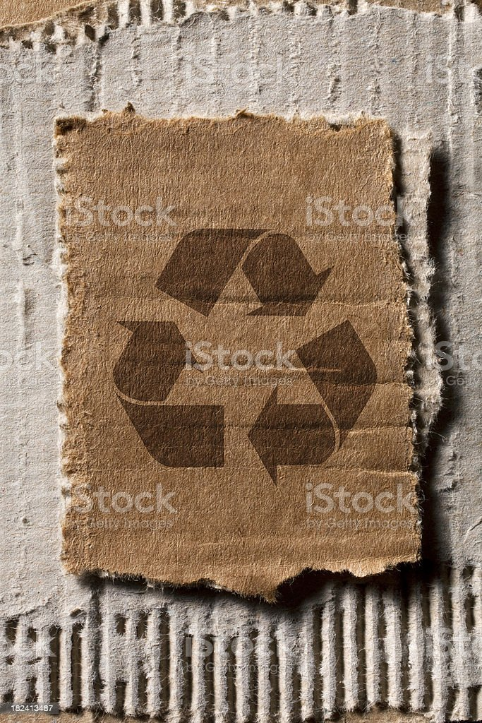 Recycle symbol royalty-free stock photo
