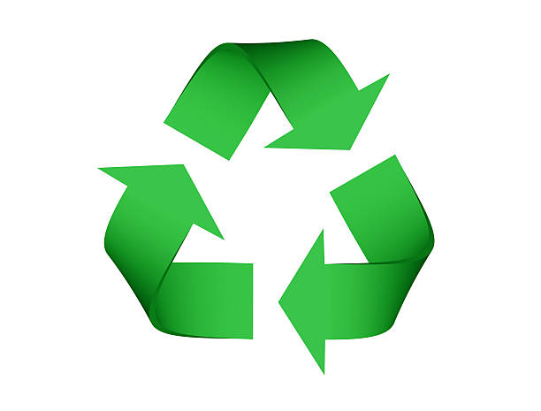 recycle symbol - recycling symbol stock photos and pictures