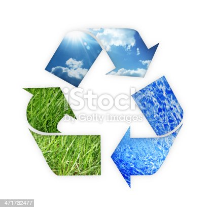499093370 istock photo recycle Three arrows 471732477