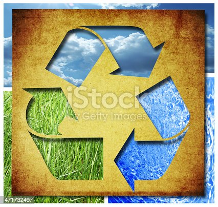499093370 istock photo recycle Three arrows 471732497