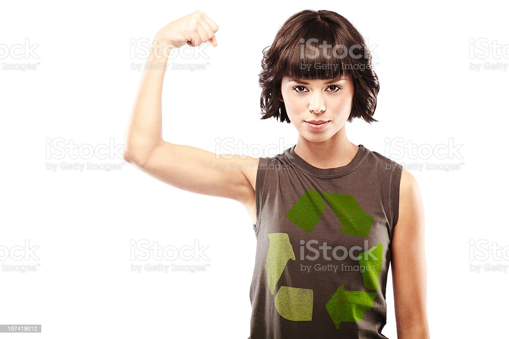 Recycle T-Shirt royalty-free stock photo