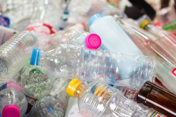 Recycle waste management plastic bottles,Recycle waste management concept. plastic stock pictures, royalty-free photos & images