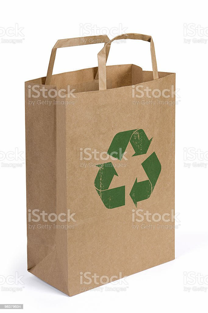 Recycle your Paper royalty-free stock photo