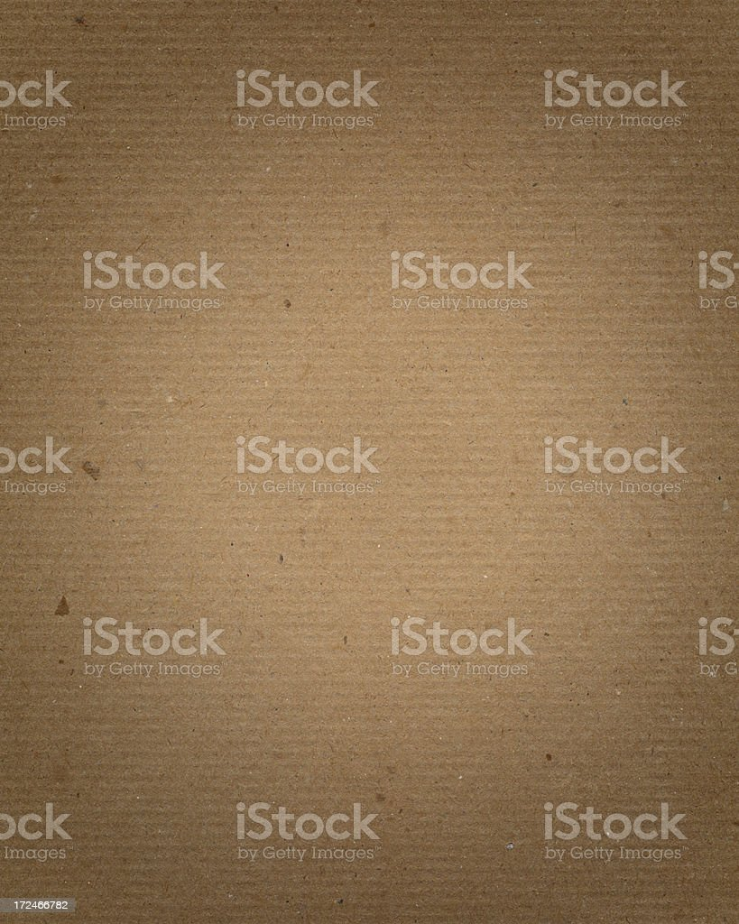 recycled cardboard with highlight royalty-free stock photo