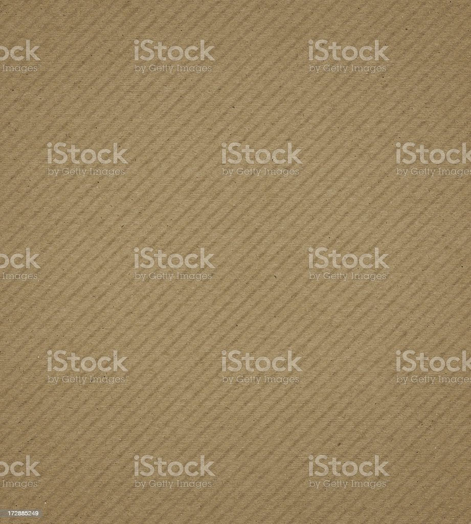 recycled cardboard with pattern royalty-free stock photo