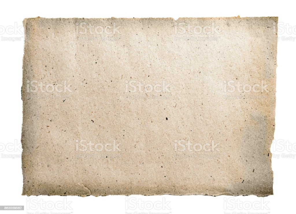 recycled  coarse paper texture stock photo