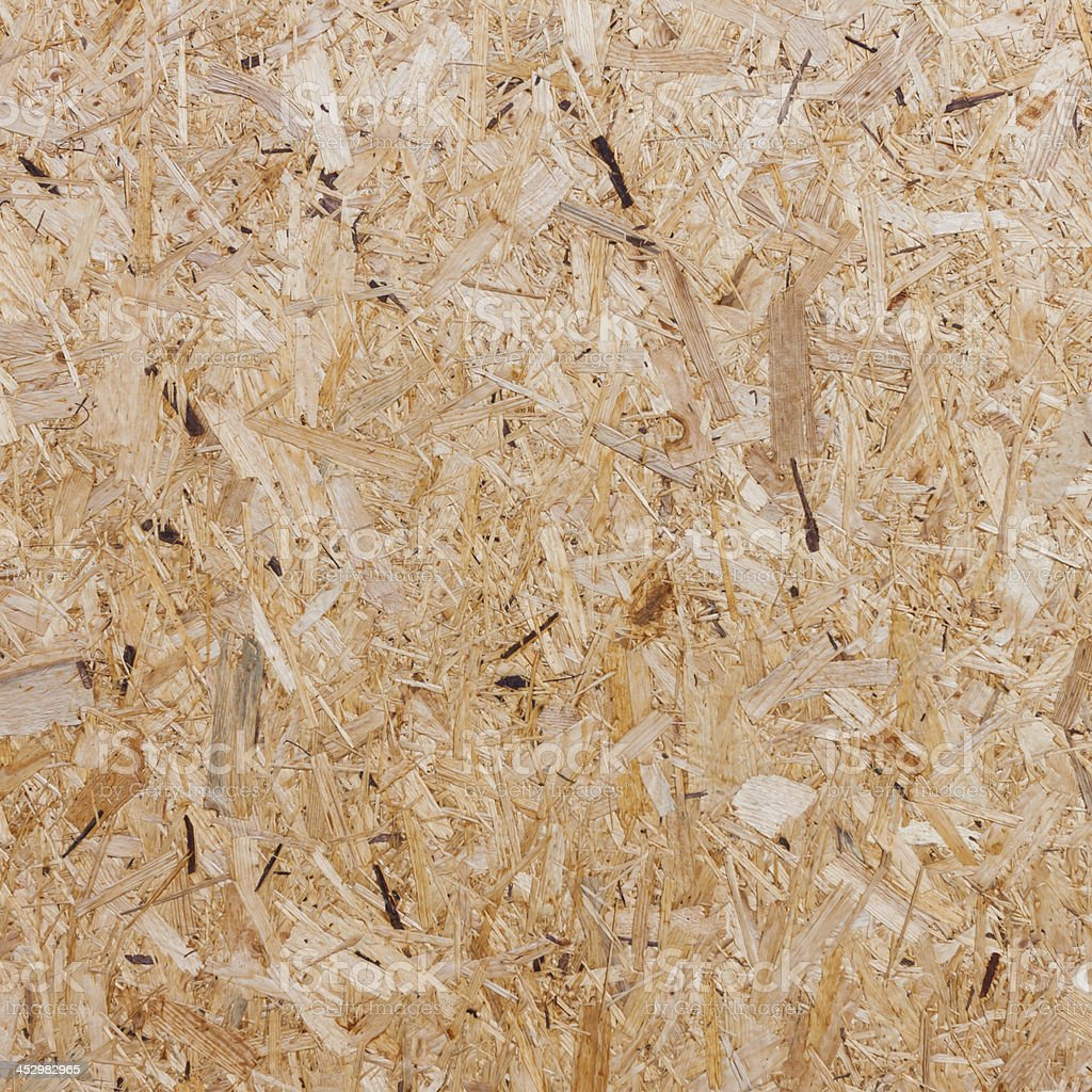 Recycled compressed wood chippings board royalty-free stock photo