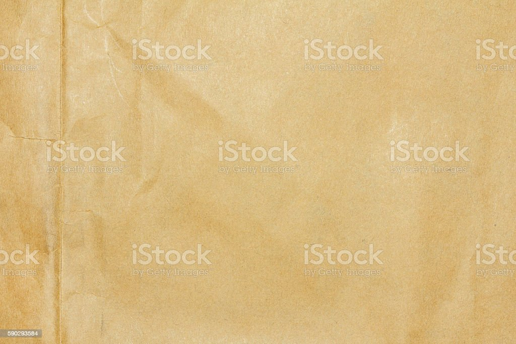 Recycled crumpled brown paper texture or paper background. royaltyfri bildbanksbilder