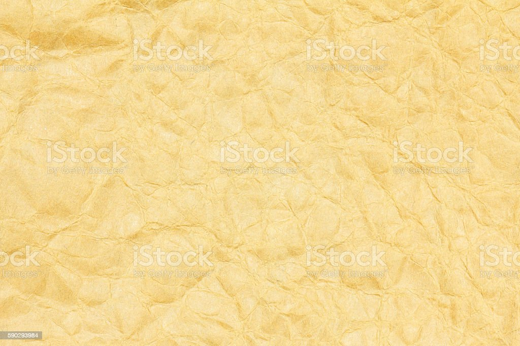 Recycled crumpled brown paper texture or paper background. Стоковые фото Стоковая фотография