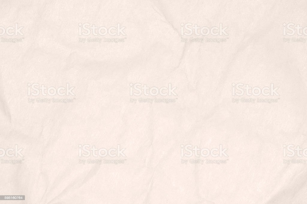Recycled Crumpled Light Brown Paper Texture Or Background Royalty Free Stock Photo