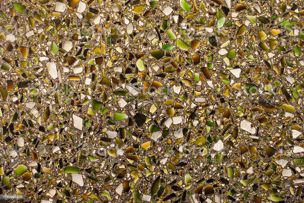 Recycled Glass Countertop stock photo
