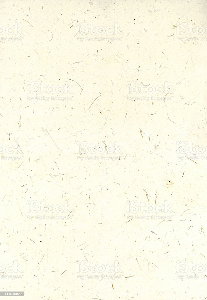 Recycled handmade stationary with large fibers royalty-free stock photo