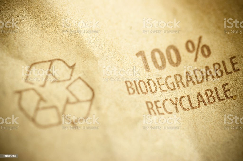recycled paper, recycling concept royalty-free stock photo
