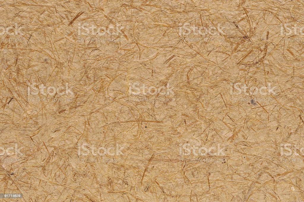 Recycled paper surface stock photo