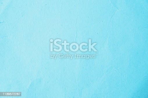 istock Recycled paper texture background in cyan turquoise teal aqua green blue mint vintage retro color : Eco friendly organic natural material surface arts craft design decoration backdrop 1139572287