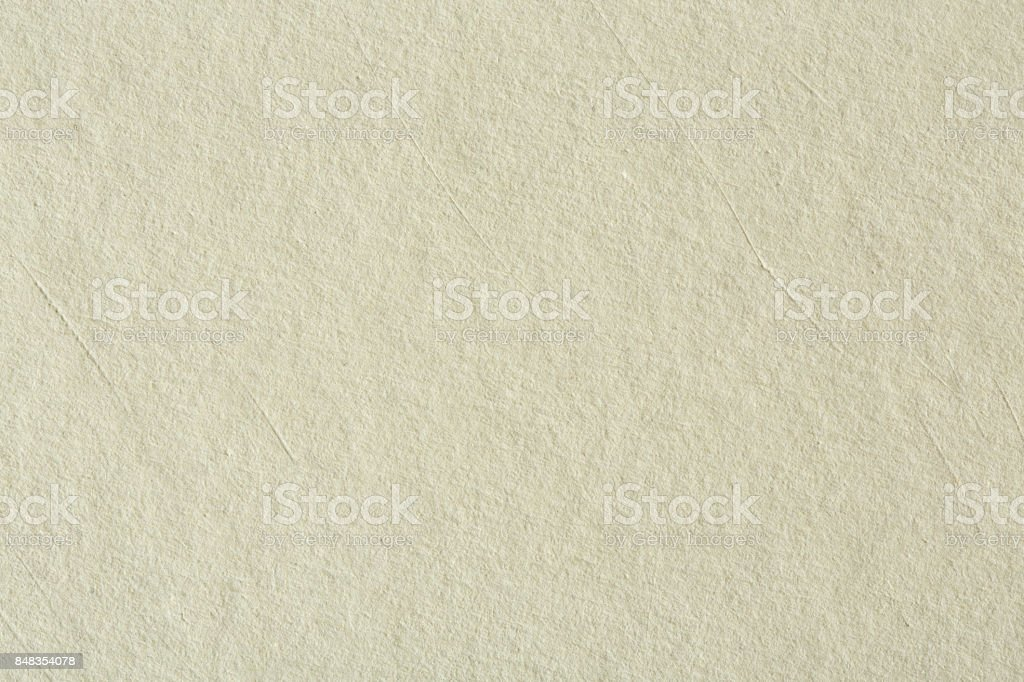 Recycled paper texture background in light cream sepia color ton stock photo