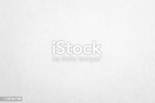 Recycled paper texture background in white color