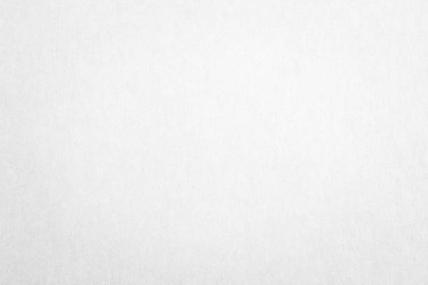 Recycled paper texture background in white color Recycled paper texture background in white color smooth stock pictures, royalty-free photos & images