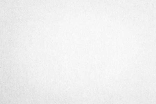Recycled paper texture background in white color stock photo