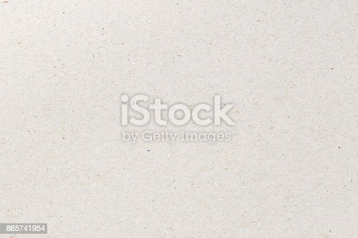 istock recycled paper texture for background,Cardboard sheet of paper for design 865741954