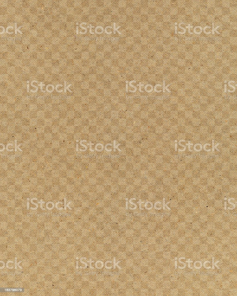 recycled paper with block design royalty-free stock photo