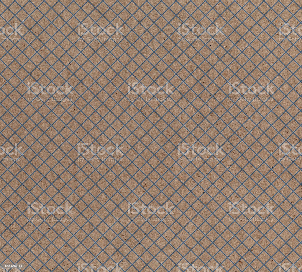 recycled paper with graph pattern royalty-free stock photo