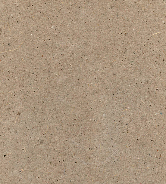 recycled paper with particles stock photo