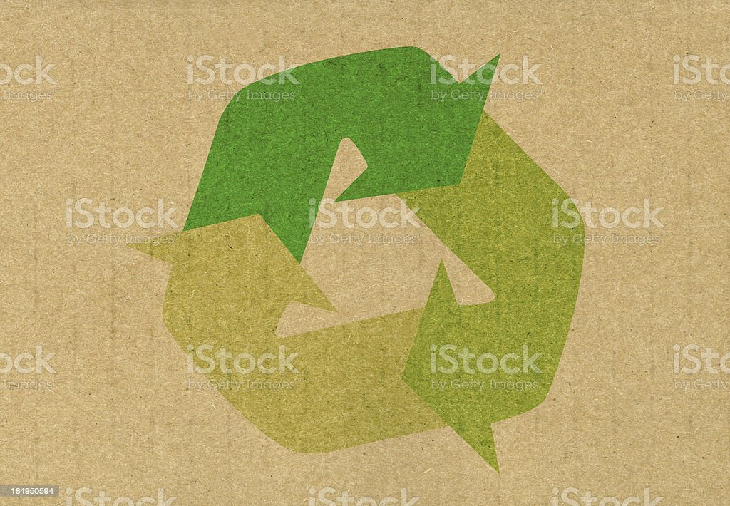 Recycled stock photo
