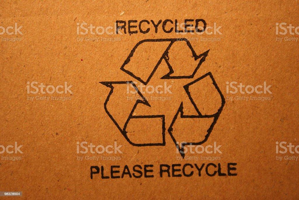 재활용 스템프 royalty-free 스톡 사진