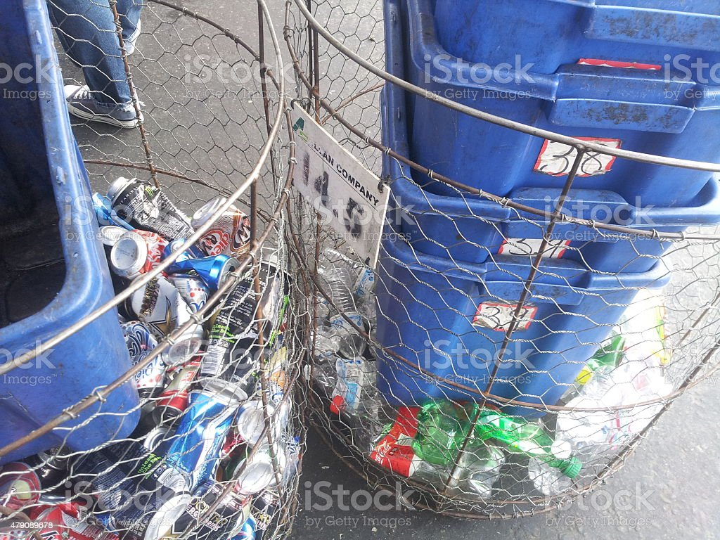 recycleing stock photo