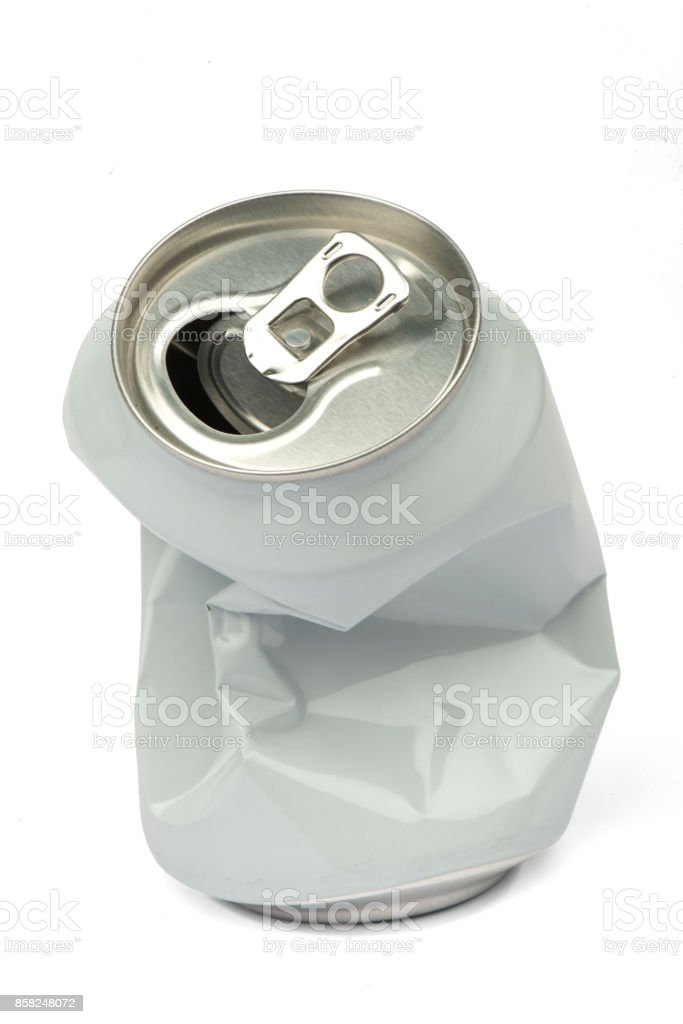 Recycling Aluminum Metal Can Stock Photo More Pictures Of Aluminum
