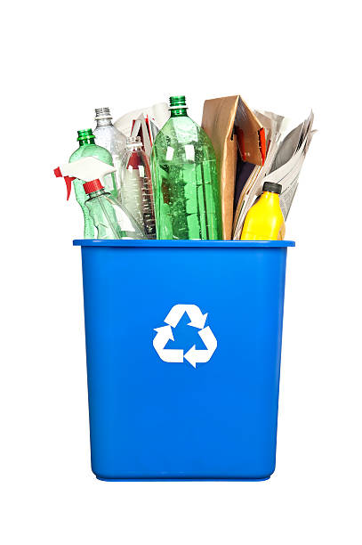 recycling bin - recycling bin stock photos and pictures
