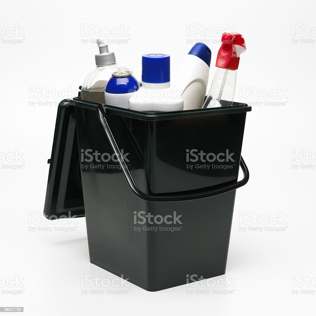 recycling bin royalty-free stock photo