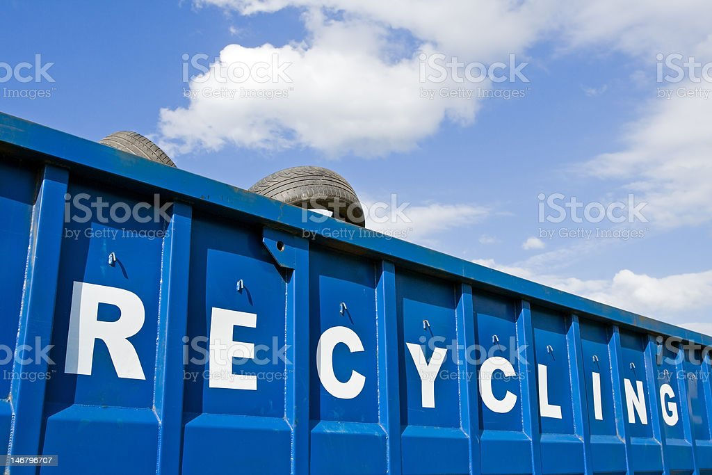 Recycling business stock photo