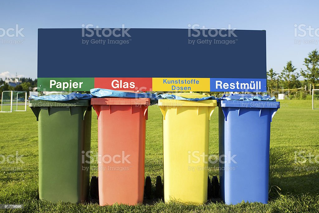 recycling concept royalty-free stock photo