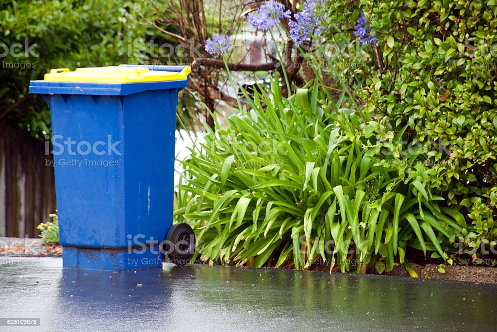 Recycling Day, Auckland, New Zealand stock photo