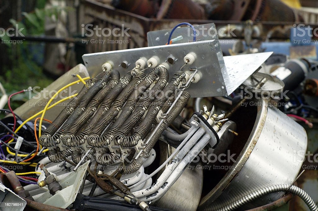 Recycling Junk royalty-free stock photo