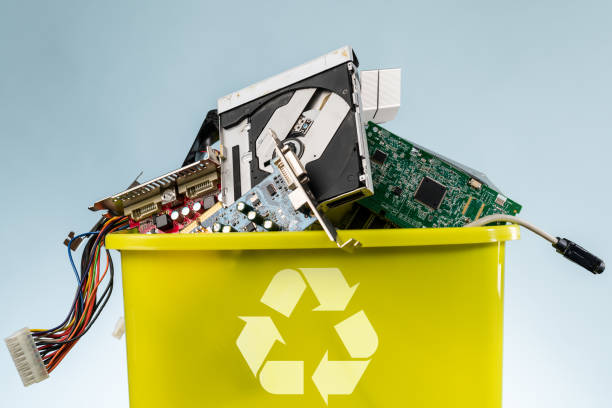 recycling - electronics industry stock pictures, royalty-free photos & images