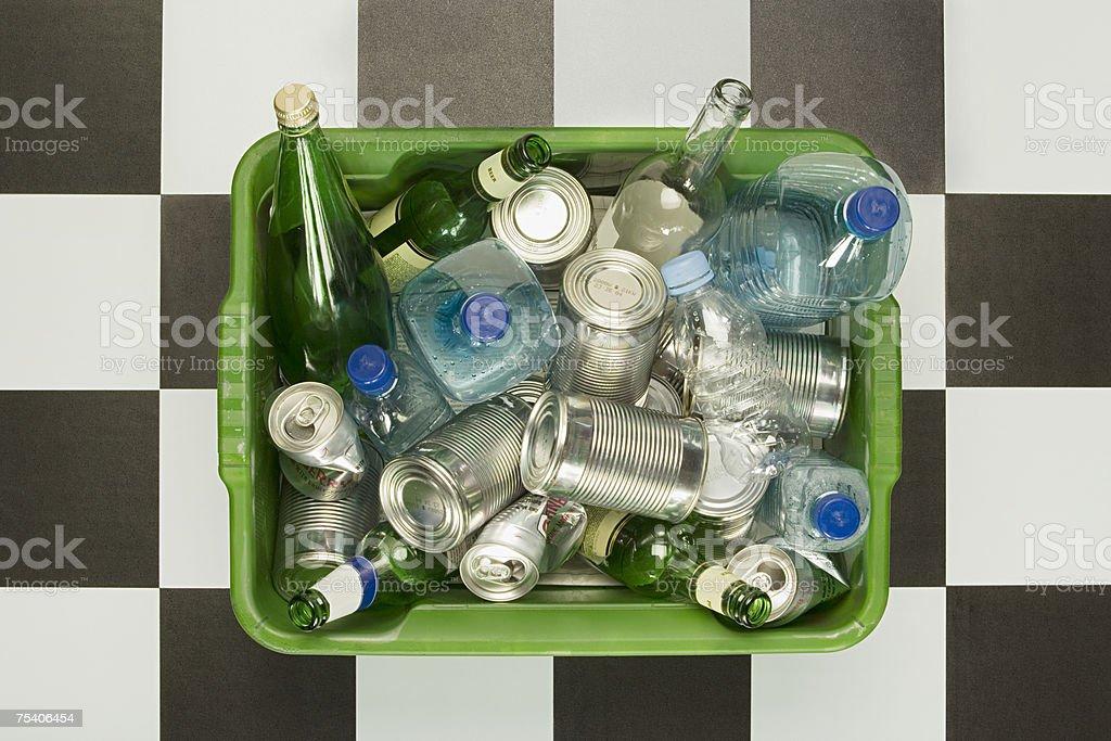 Reciclagem foto de stock royalty-free