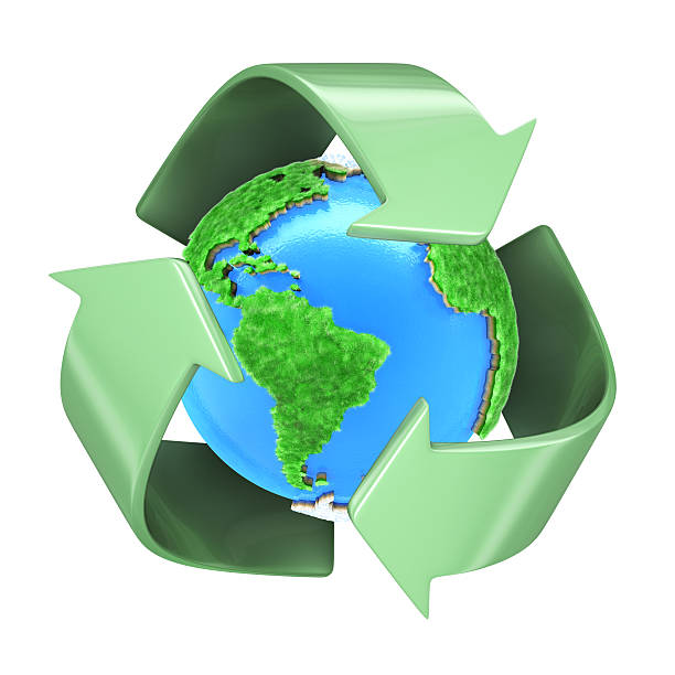 recycling planet earth - bioremediation stock photos and pictures