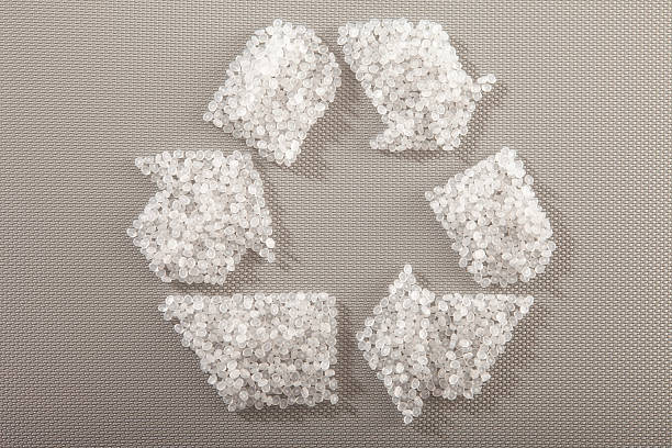 kunststoff resin brennstofftabletten ohne belang recycling - polypropylen stock-fotos und bilder