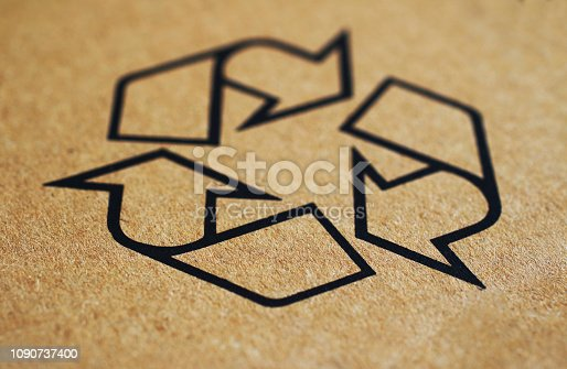 Recycling Symbol , Sustainable Energy Concept