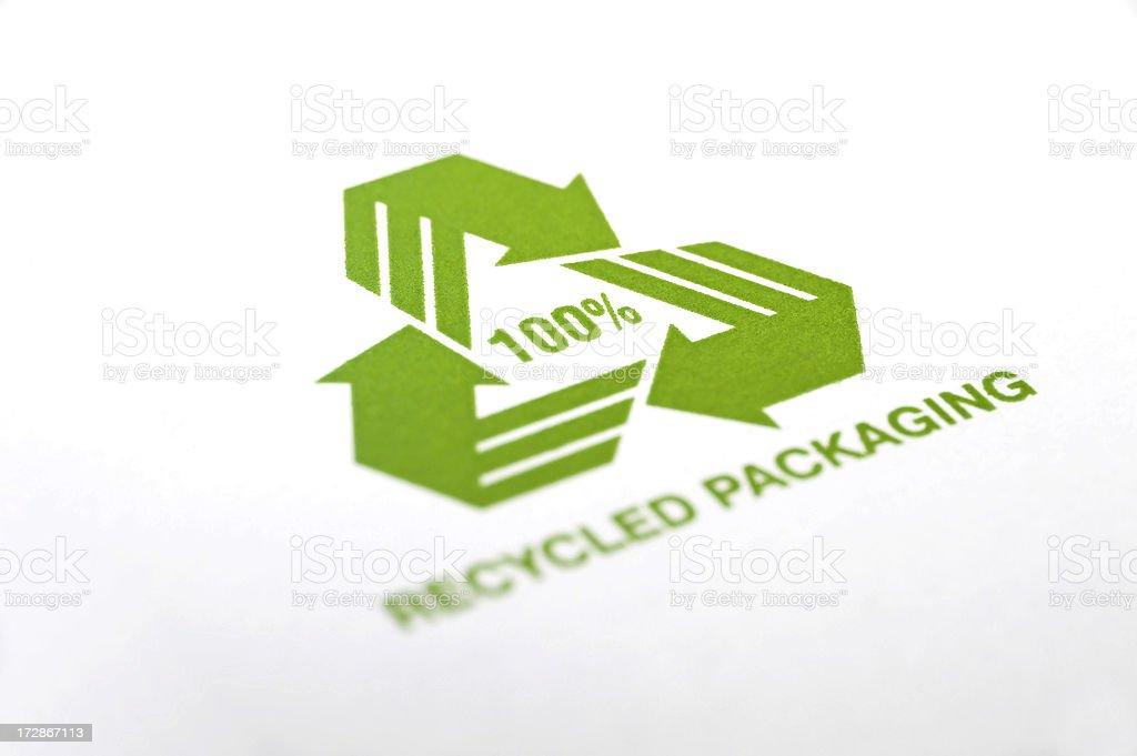 Recycling symbol Lizenzfreies stock-foto