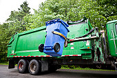 istock Recycling Truck 115027730