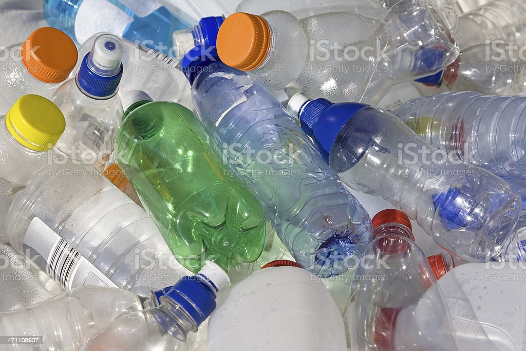 Recycling # 1 XL stock photo