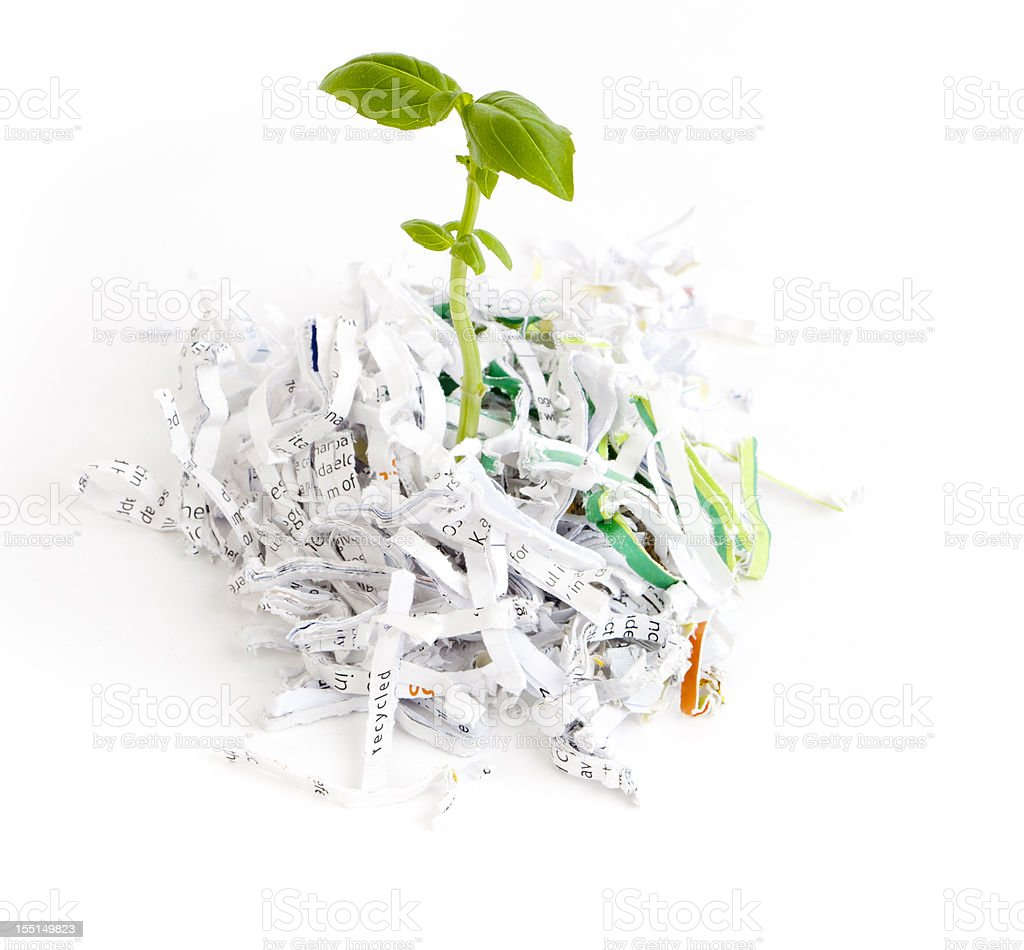 Recyled royalty-free stock photo