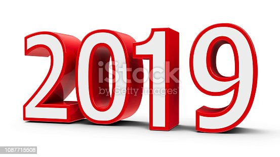 istock Red 2019 icon #2 1087715508