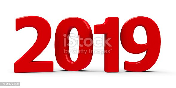 istock Red 2019 icon 825477196