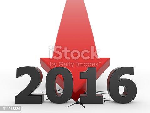istock Red 3D arrow crash 2016 511213336