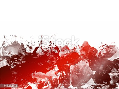 istock Red Abstract Artistic Watercolor Paint Background 1149292179